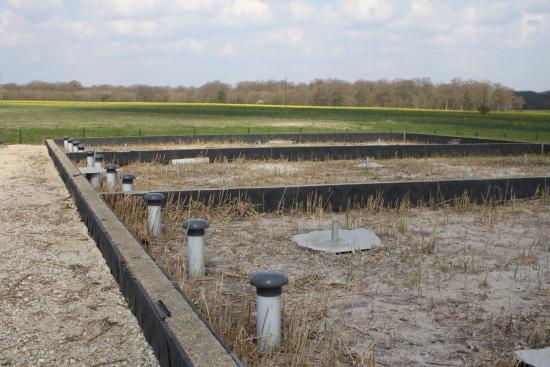 station d'épuration en rhizosphère