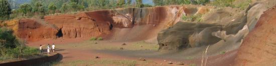 Carrière de sables basaltiques